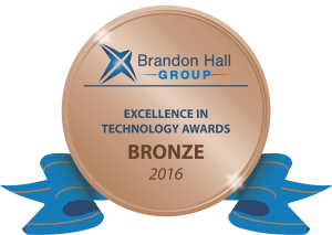 Brandon Hall 2016 Tech Bronze