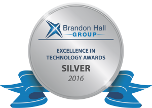 Brandon Hall 2016 Tech Silver