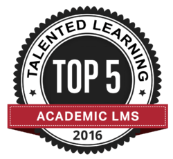 Talented Learning LMS Vendor Awards Academic LMS Award