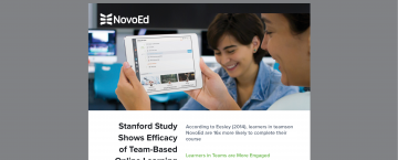 Stanford Study Shows Higher Engagement on NovoEd