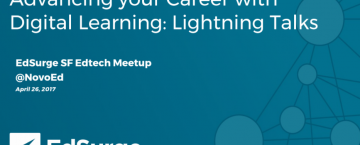 EdSurge Event Recap: Advancing your Career with Digital Learning