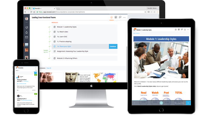 NovoEd's Engaging Learning Platform