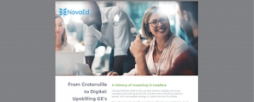 From Crotonville to Digital: Upskilling GE's Global Workforce