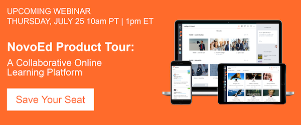 NovoEd Product Tour - Register