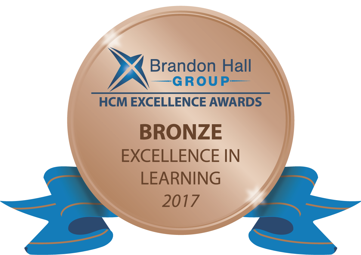 Brandon Hall Excellence in Learning 2017