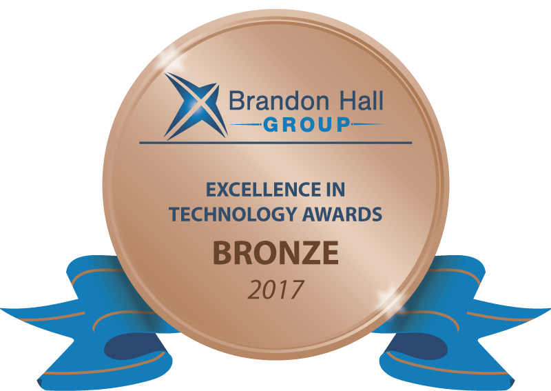 Brandon Hall Excellence in Technology 2017